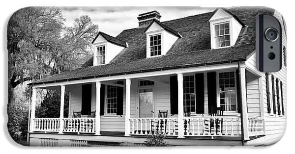 Historic Site iPhone Cases - Charles Pickney House iPhone Case by John Rizzuto