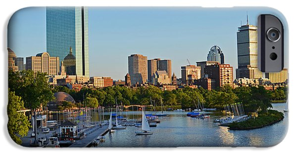 Charles River iPhone Cases - Charles River at Sunset iPhone Case by Toby McGuire