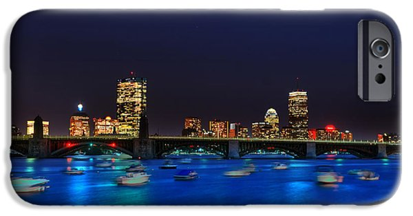 Charles River iPhone Cases - Charles River Basin 016 iPhone Case by Jeff Stallard