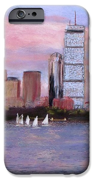 Charles River Boston iPhone Case by Jack Skinner