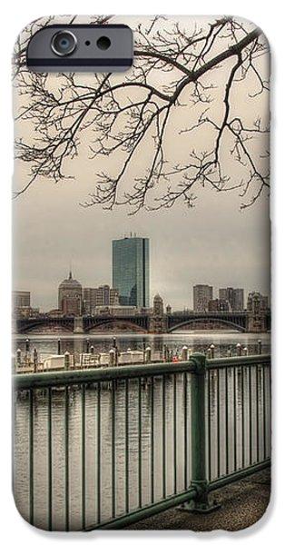 Charles River Charlesgate Yacht Club iPhone Case by Joann Vitali