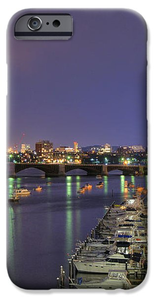 Charles River Country Club iPhone Case by Joann Vitali