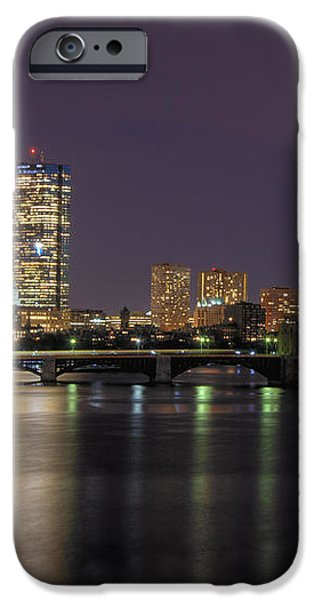 Charles River Reflections - Boston iPhone Case by Joann Vitali