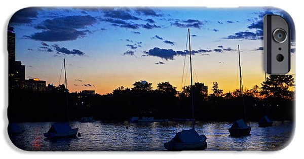 Oxford. Oxford Ma. Massachusetts iPhone Cases - Charles River Sunset Boston iPhone Case by Toby McGuire