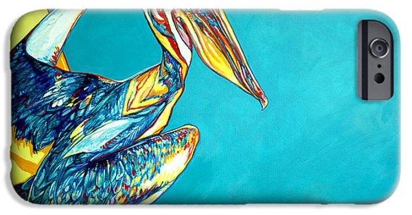 Sea Birds iPhone Cases - Charleston Pelican iPhone Case by Derrick Higgins