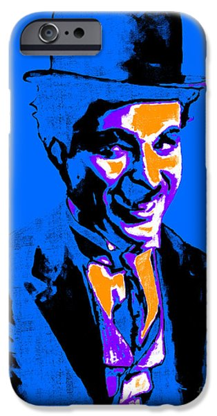 Charlie Chaplin iPhone Cases - Charlie Chaplin 20130212m145 iPhone Case by Wingsdomain Art and Photography