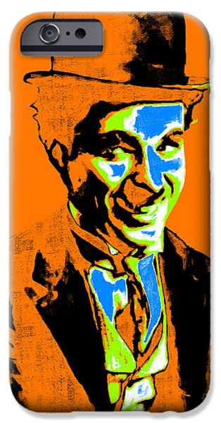 Charlie Chaplin iPhone Cases - Charlie Chaplin 20130212p28 iPhone Case by Wingsdomain Art and Photography