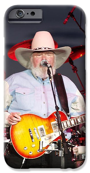 Charlie Daniels iPhone Case by Bill Gallagher