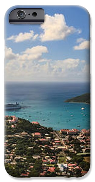 Charlotte Amalie St. Thomas iPhone Case by Keith Allen