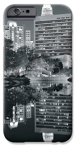 Charlotte iPhone Cases - Charlotte Black and White iPhone Case by Frozen in Time Fine Art Photography