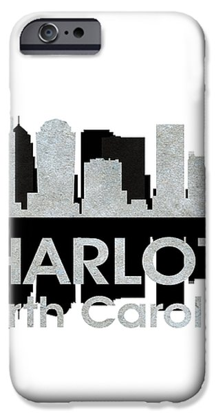 Charlotte NC 4 iPhone Case by Angelina Vick