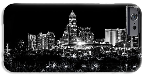 Charlotte iPhone Cases - Charlotte Night iPhone Case by Chris Austin