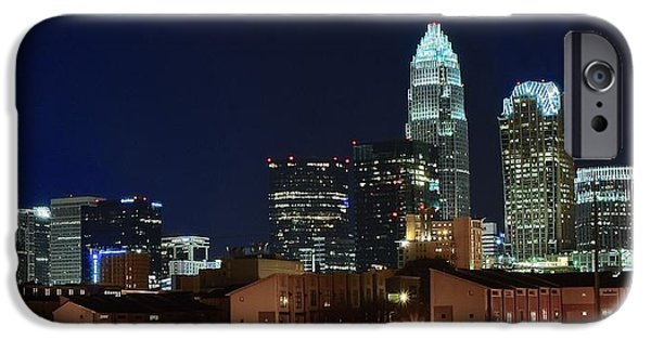 Charlotte iPhone Cases - Charlotte North Carolina iPhone Case by Frozen in Time Fine Art Photography
