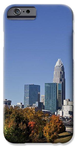 Charlotte North Carolina iPhone Case by Jill Lang