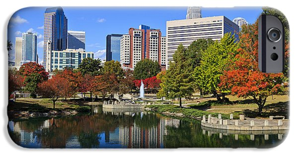 Recently Sold -  - Business Photographs iPhone Cases - Charlotte North Carolina Marshall Park iPhone Case by Jill Lang