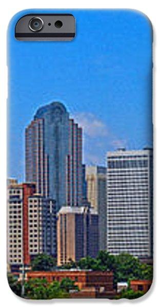 Charlotte Panorama iPhone Case by Gene Berkenbile