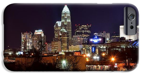 Charlotte iPhone Cases - Charlotte Panoramic  iPhone Case by Frozen in Time Fine Art Photography