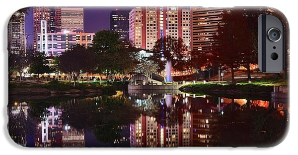 Charlotte iPhone Cases - Charlotte Reflecting iPhone Case by Frozen in Time Fine Art Photography