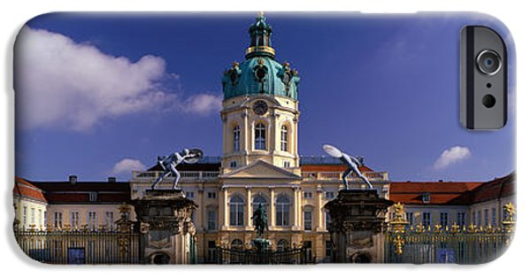 Berlin Germany iPhone Cases - Charlottenburg Palace Schloss iPhone Case by Panoramic Images
