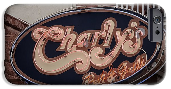 Charly iPhone Cases - Charlys Flagstaff iPhone Case by Steven Lapkin