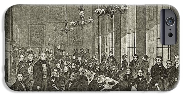 Reform iPhone Cases - Chartists National Convention, 1839 iPhone Case by Middle Temple Library