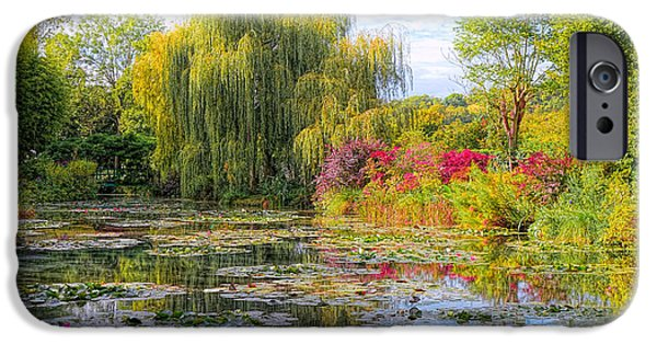 Painter Photographs iPhone Cases - Chasing Monet iPhone Case by Olivier Le Queinec