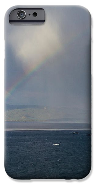 Chasing Rainbows iPhone Case by Mitch Shindelbower