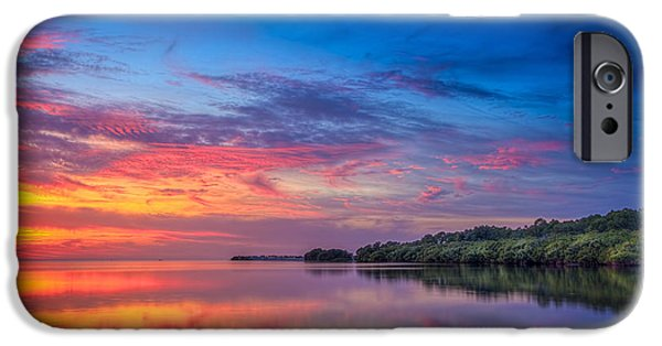 St. Petersburg iPhone Cases - Chasing The Light iPhone Case by Marvin Spates