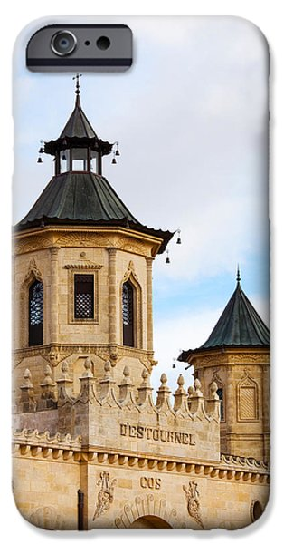 Winery Photography iPhone Cases - Chateau Cos Destournel Winery iPhone Case by Panoramic Images