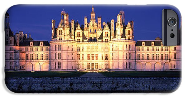 Building iPhone Cases - Chateau De Chambord Loire France iPhone Case by Panoramic Images