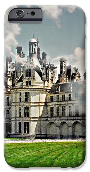 Chateau de Chenonceau iPhone Case by Diana Angstadt