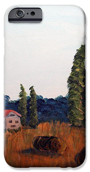 Chateau D'eauville iPhone Case by Maura Satchell