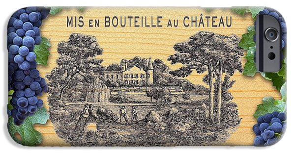 Chateau iPhone Cases - Chateau Lafite Rothschild  iPhone Case by Jon Neidert
