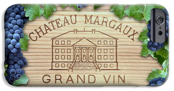 Chateau iPhone Cases - Chateau Margaux iPhone Case by Jon Neidert