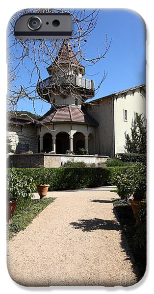 Chateau St. Jean Winery 5D22201 iPhone Case by Wingsdomain Art and Photography