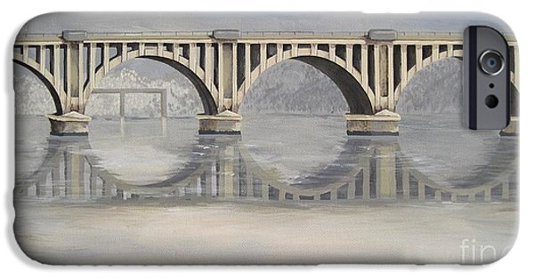 Chatham Paintings iPhone Cases - Chatham iPhone Case by Jennifer  Donald
