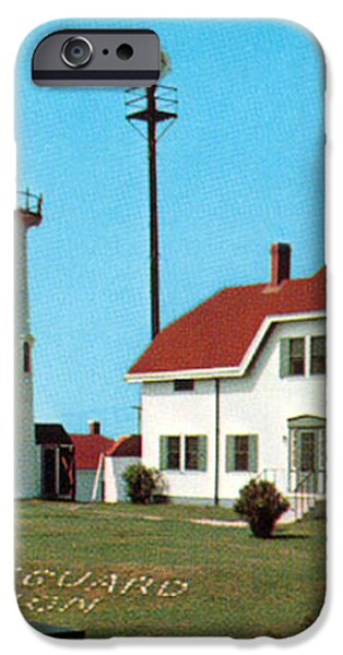CHATHAM LIGHT 1950 iPhone Case by Skip Willits