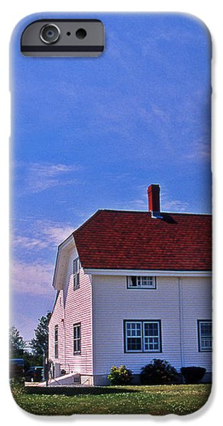 CHATHAM LIGHT iPhone Case by Skip Willits