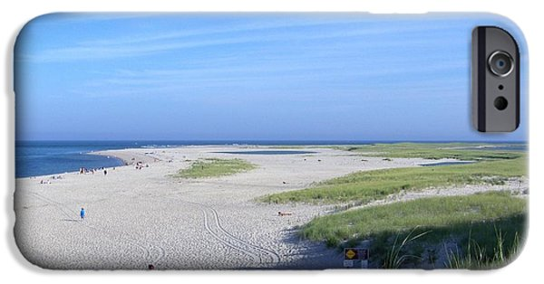 Chatham iPhone Cases - Chatham Lighthouse Beach iPhone Case by Kate Scott