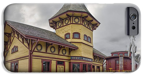 Chatham iPhone Cases - Chatham Railroad Museum iPhone Case by Constantine Gregory