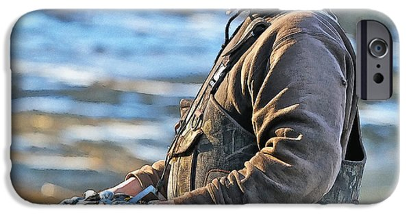 Chatham iPhone Cases - Chatham Soft Shell Clams iPhone Case by Constantine Gregory