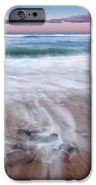 Chatham Sunset iPhone Case by Bill  Wakeley