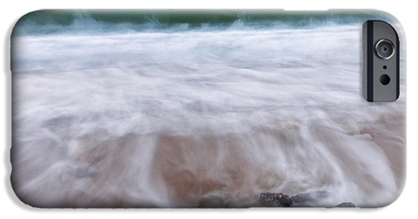 Chatham iPhone Cases - Chatham Sunset Square iPhone Case by Bill  Wakeley