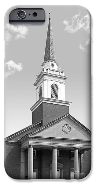 Chatham iPhone Cases - Chatham University Campbell Memorial Chapel iPhone Case by University Icons