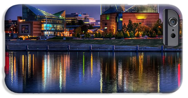 Tennessee Landmark iPhone Cases - Chattanooga Aquarium iPhone Case by Mountain Dreams