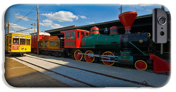 Creative People iPhone Cases - Chattanooga Choo Choo At The Creative iPhone Case by Panoramic Images