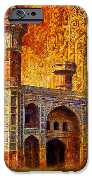 Chauburji Gate iPhone Case by Catf