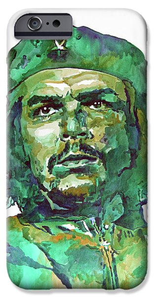 Most Popular iPhone Cases - Che Guevara iPhone Case by David Lloyd Glover