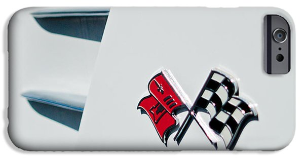 Old Cars iPhone Cases - Checkers iPhone Case by Bill Gallagher