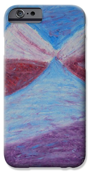 Wine Bottles Pastels iPhone Cases - Cheers iPhone Case by Michael Mooney